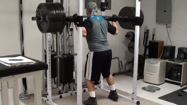 Single Leg Lockout Partial Squats for Unilateral Power and Athletic Performance