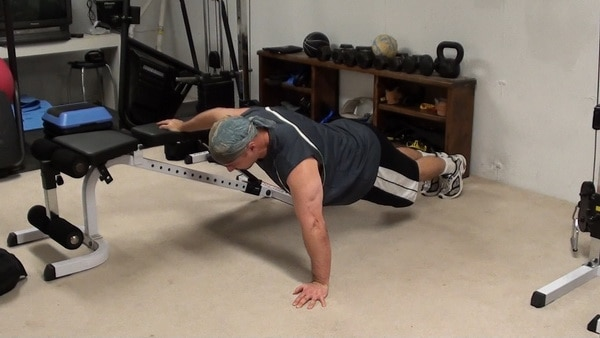 One-Arm Bench Push-Ups...Bodyweight Muscle-Building for Chest