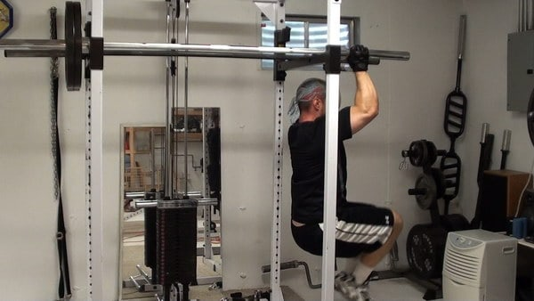Six-Pack Abs Training...Hanging Knee Raises for Upper Abs
