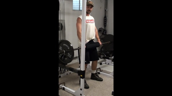 Isometric Squat Holds Using a Barbell - Strengthen Your Squat out of the Hole