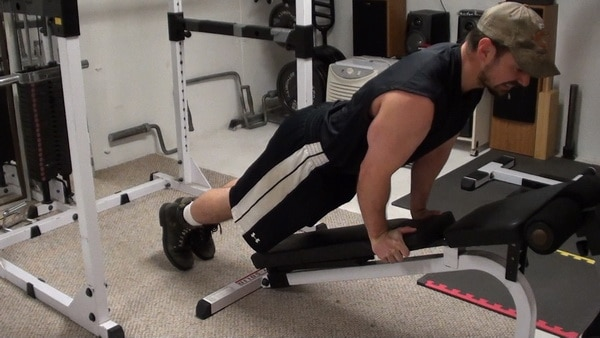 Ski Jumper Planks...a simple and effective ab exercise