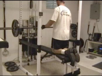 Ballistic Bench Press Warm-Up