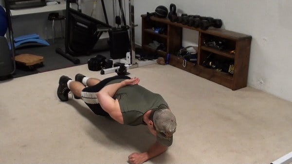 One-Arm Hammer Planks for Targeting the Deep Core Muscles