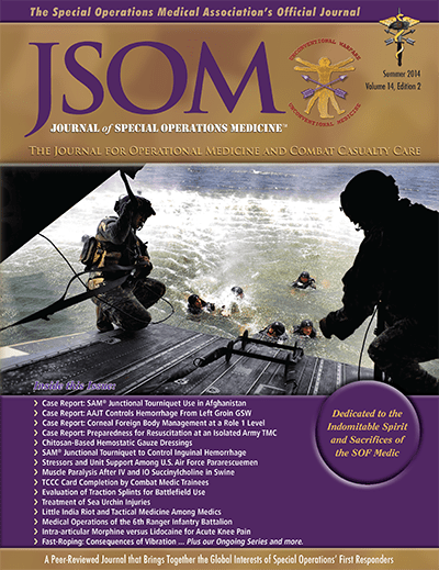 Journal Of Special Operations Medicine (JSOM) Paper